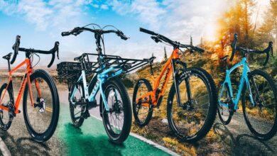 جدول سایز بندی انواع مختلف دوچرخه ها